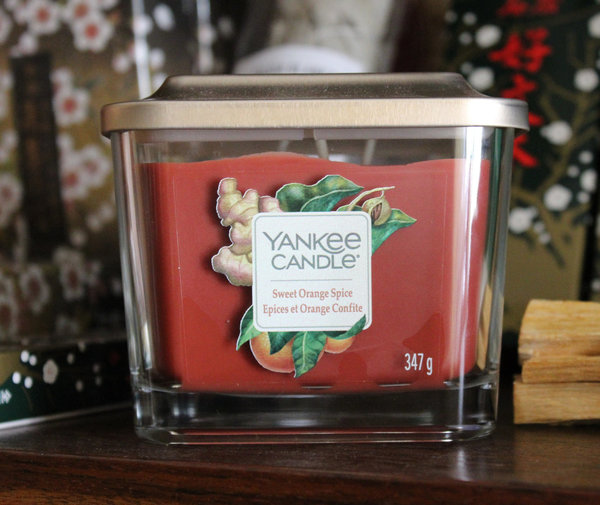 VELA YANKEE CANDLE SWEET ORANGE SPICE 347gr